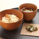 焼竹の子ご飯