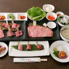 【ディナー】「焼肉せんりゅう贅沢和牛」コース/豪華!和牛ザブトンや和牛ハラミ&タン食べ比べなど全13品