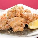 ◎料理一例◎鶏のからあげ 1品1品盛り付けにもこだわってます