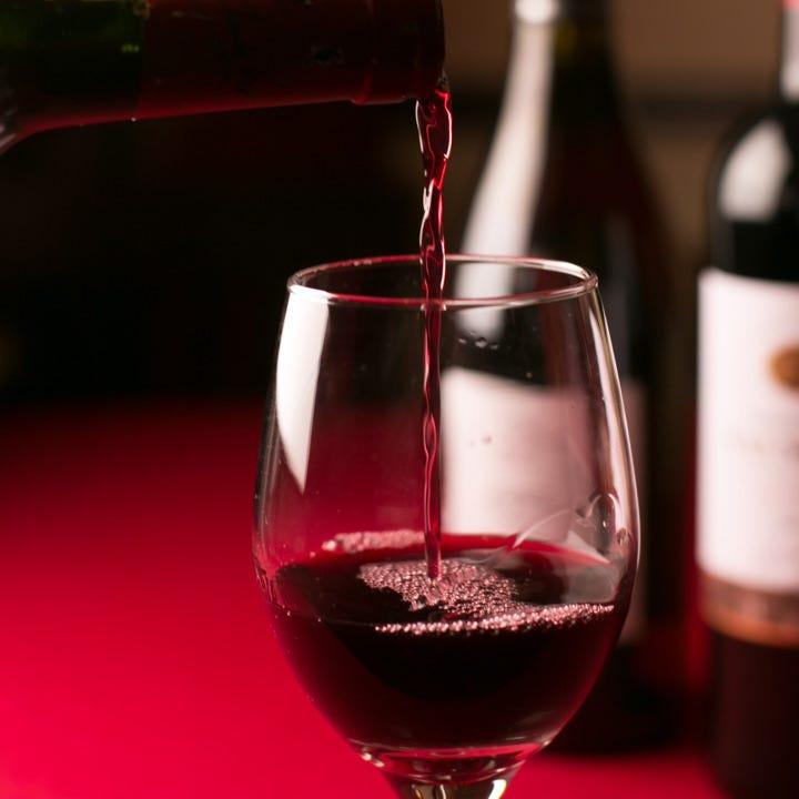 豊富なイタリアワインをご用意!