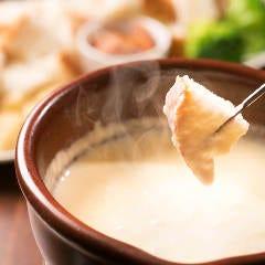 ピエモンテ風チーズフォンデュ