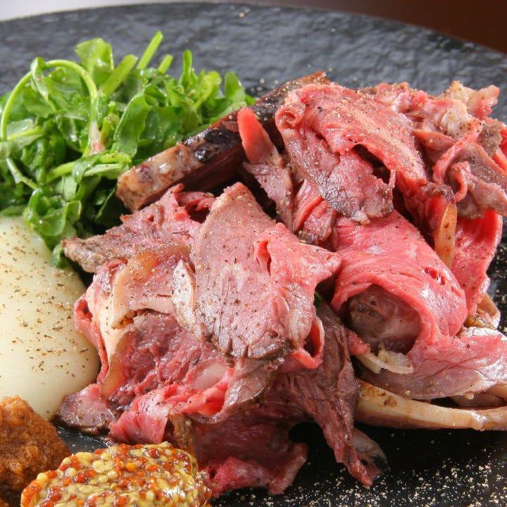 絶品!塊肉ロースト&酒場料理