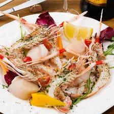 厳選食材と旬野菜のメニュー