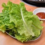 チシャ(包み野菜) 480円