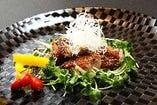 合鴨のロースト(味噌焼)