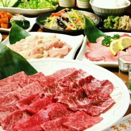 内容充実◎焼肉宴会コース2,700円~
