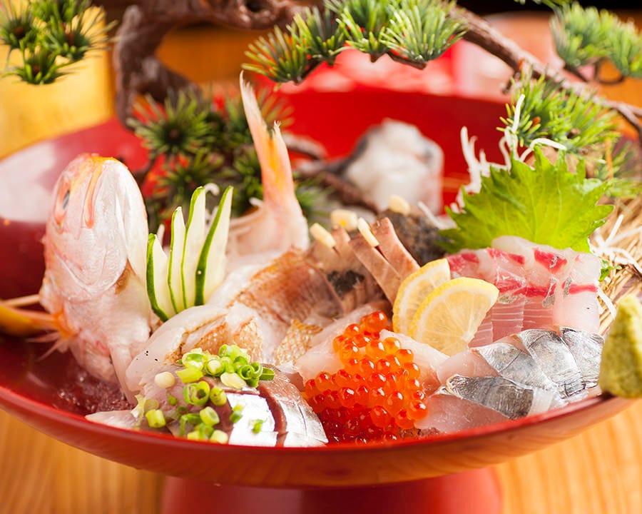 魚菜丸宴会コース☆2H飲放 3500円~