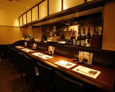日本酒と和食 旬彩料理てん  店内の画像