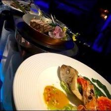 ☆メイン魚・肉☆和と洋をミックスした特別料理の数々が楽しめる【和洋コース】5,000円(税抜)<12品~>
