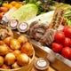 さまざまな季節野菜は、佐賀県の農家さんから直送で新鮮!