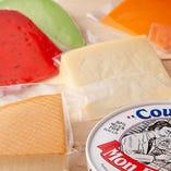 チーズの盛り合わせの入ったコース4400円/2時間コース 全8品!2時間飲み放題付き
