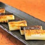 松戸野菜、矢切ねぎの黒焼き