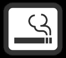 店内の喫煙可能
