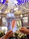 噴水前のテラス席♪幻想的なイルミネーションで聖なる夜に乾杯♪