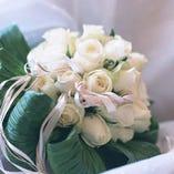 【サプライズに】花束をご用意いたします。