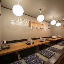 名古屋地鶏を使用したこだわりの宴会