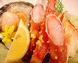 かにホタテ鮭など北海道食材が 新鮮旨いリーズナブル!