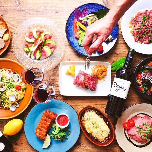 島料理を味わう飲み放題付宴会が人気