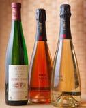 日本酒のほかシャンパンもご用意しております