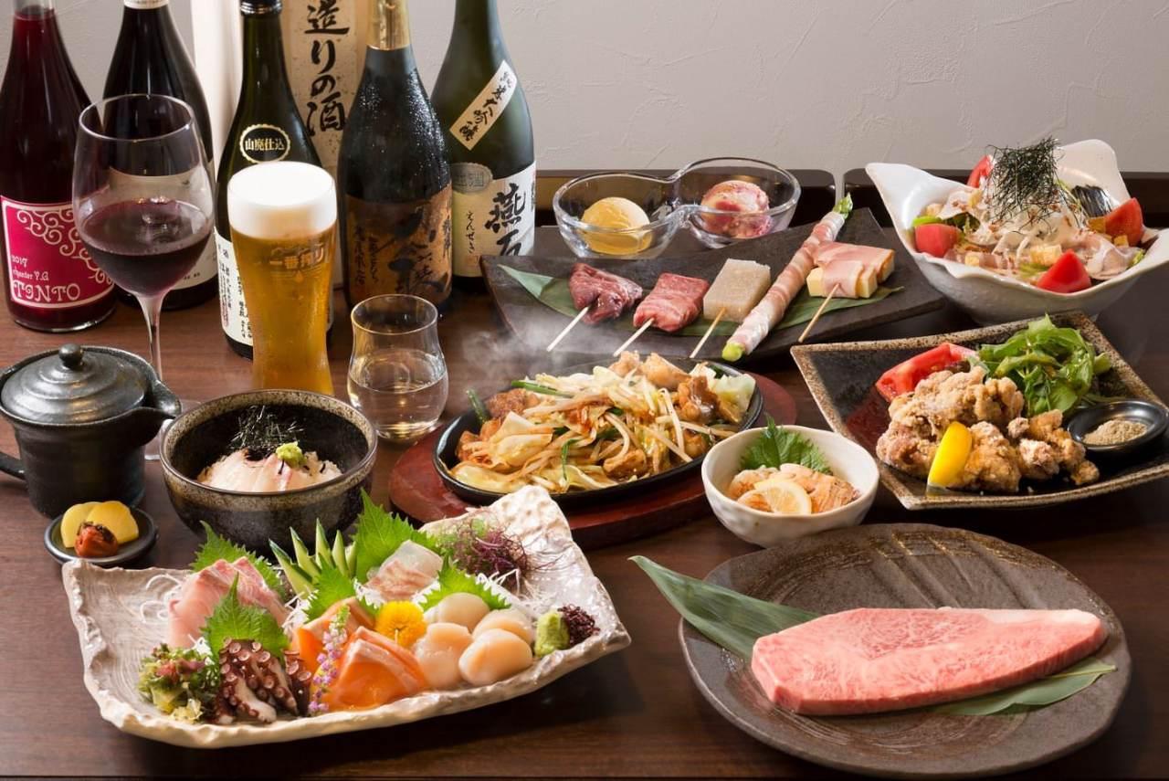 ■120分飲み放付コースは4,000円~