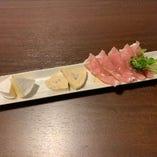 チーズ&生ハム盛