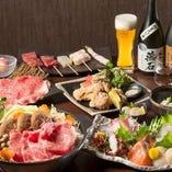 【飲み放題付き】香川県産オリーブ牛の贅沢すき焼きコース6,000円⇒5,500円