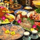 本格的なコース料理や、 一品料理、御提供致します。