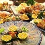 ふぐちり鍋コース、宴会時は、大皿にてご提供も出来ます。