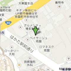 櫛田神社からも近隣です。キャナルシティからも近です。博多駅からも徒歩で歩ける距離です。飲み屋街の中洲も近隣徒歩圏内です。隠れ屋・和食・英二楼は、一方通行の裏道に所在しております。ピンポイントの場所です。博多区祗園町6-35-1Fです。℡092-281-2917