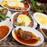 ペルシャ料理は、辛くなく、食べやすいヘルシーなお料理です。