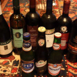 中東、アフリカからの珍しいワインやビールもご用意しております