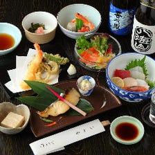 6,000円(税抜)コース〈全9品〉接待・会食・宴会・法事・慶事