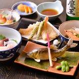 〈コース〉 旬の味覚を愉しむ四季折々の食材を使った料理