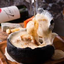 全10種のチーズ料理が楽しめる!
