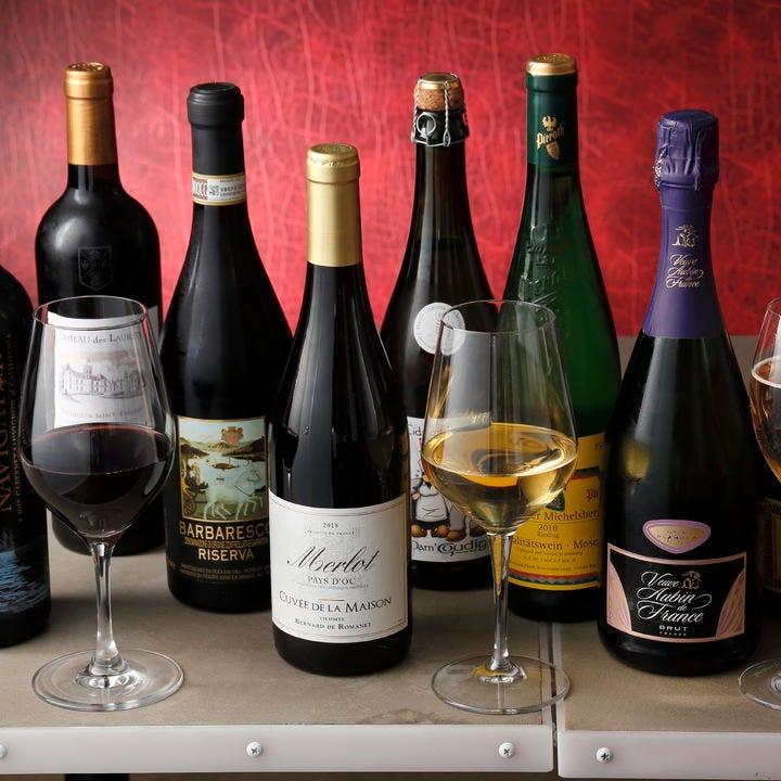 本格フレンチ&ワインでパーティー