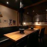 【1階】テーブル席半個室(~4名様×2部屋)