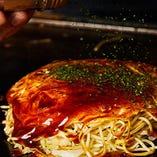【広島お好み焼き】 モチモチの麺と甘めのソースがクセになる♪