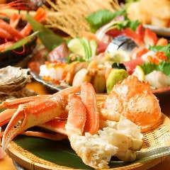 北海道レストラン 知床漁場 リノアス八尾店