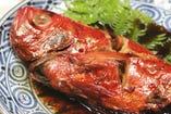 とり鍋&金目鯛の煮つけ 3500円コース