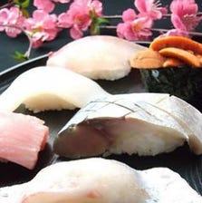 国産牛・京料理・寿司を満喫できる極みコース【料理のみ8,500円/飲み放題付き10,000円】