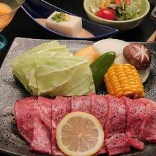 ステーキ御膳(120g)/Steak set(120g)