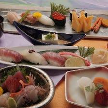 寿司懐石 風雅(全7品)/Sushi  tea-ceremony  dishes『Fuga』
