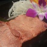 生タン塩 香味野菜包み焼き ~自家製とろろダレで~