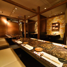 3タイプから選べる、贅沢個室