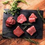 上質な赤身肉はお肉の幸せを教えてくれます♪