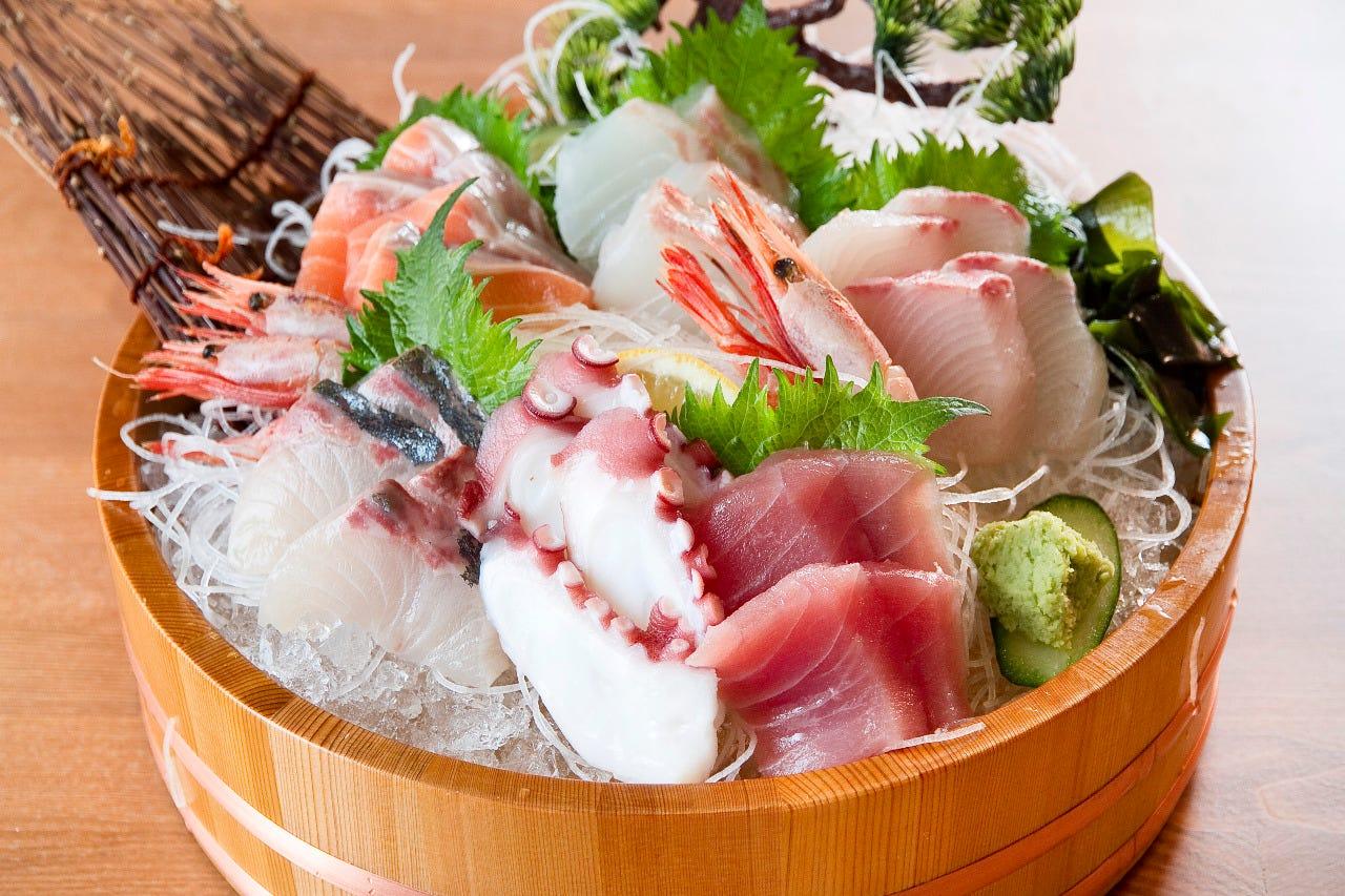 実家の魚屋より直送の選りすぐりのお魚