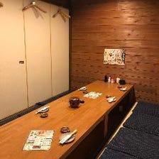 安心安全!3密回避の完全個室を完備