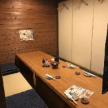 【ゆったり座れる個室】大小 掘りごたつ個室席