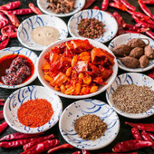 中国直輸入の香辛料が美味しさの秘密