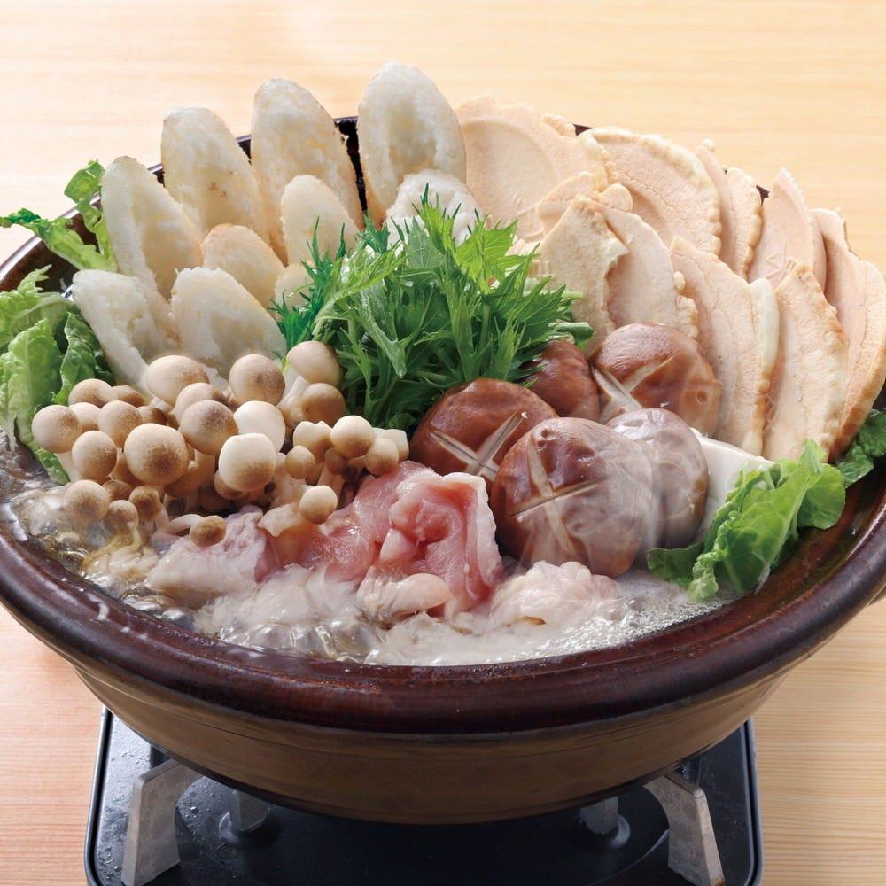 まぐろとサーモンの2種盛り&選べるご当地のハイブリット鍋